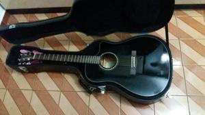 Violao Fender Elétrico Dreadnought Cd60 Ce Preto C/ Case