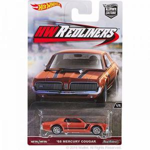 68 mercury cougar hot wheels