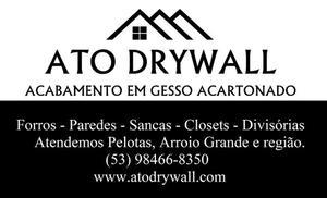 ATO DRYWALL - Acabamento em Gesso Acartonado