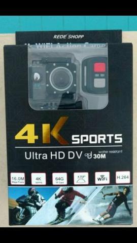 "Câmera a prova de água Action Cam 30M2.0""LCD FULL HD"