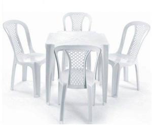 Conjunto jogo mesas cadeiras de plastico - cadeiras plastico