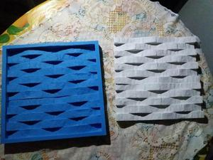 Lindos moldes de silicone p/gesso 3d