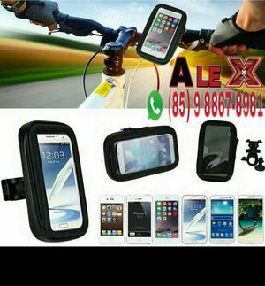 Suporte GPS celular p/ motos e kibes R$