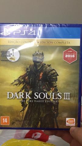 Jogo de PS4 - DARK SOULS 3 - Edição Completa com todas