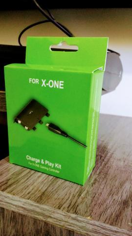 Kit charge Xbox One, aceitamos cartão