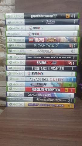 Lote de 18 jogos xbox 360 originais