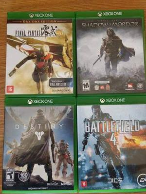 Pacote de 7 super jogos originais para Xbox one novíssimos