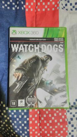 Watch Dogs 1 para Xbox 360 semi-novo
