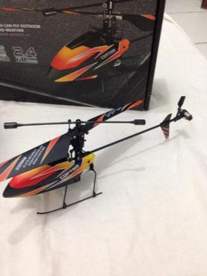 Helicóptero rádio 4 canais para vender logo