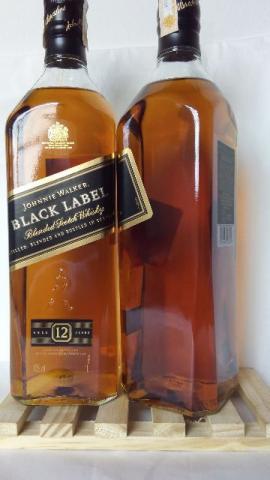 Johnnie Walker Black Label Whisky 12 Anos ml