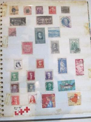 Linda Coleção de Selos +400 Nacionais e Estrangeiros