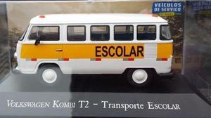 Miniatura Kombi Escolar 1/43