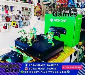 Xbox One 500G + 1 Controle + 1 Jogo