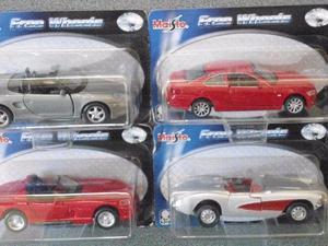 Coleção de carros em miniatura Maisto