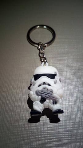 Star wars stormtrooper chaveiro para colecionador