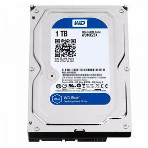 HD WD SATA 3,5´ Blue PC 1TB RPM 64MB Cache SATA 6.0Gb/s
