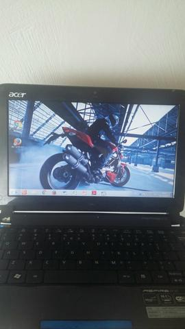 Netbook Acer Aspire Dual Core HD 750 Gigas 1 Giga de memoria
