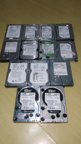 Super lote desapego HD Sata e IDE usados confira