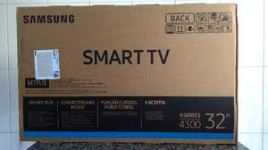 """Smart TV Samsung 32"""" LED, WiFi Integrado, Nova na Caixa"""