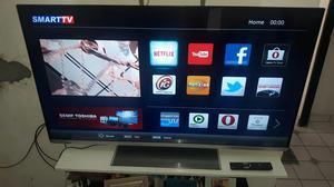 "Smart Tv Slim Led 55"" Semp Toshiba wi-fi Integrado NOVA"