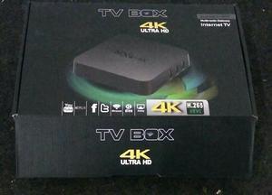 TV BOX 4K transforma tv em smart