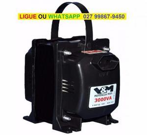 Auto Transformador De Voltagem Bivolt 110v E 220v va