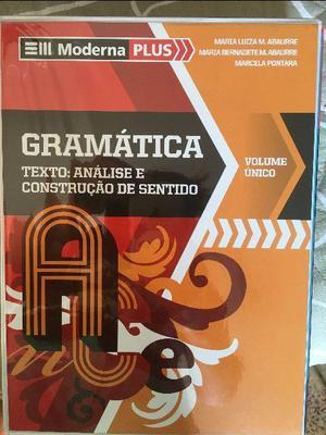 Gramática - ed. Moderna vol. unico
