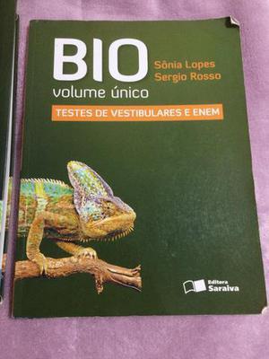 Livro de Biologia - Editora Saraiva