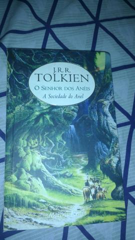 Livro o senhor dos anéis 1 j.r.r tolkien
