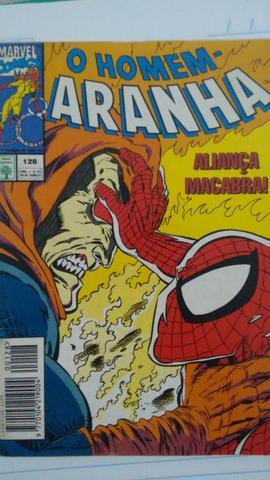 Quadrinhos do homem aranha