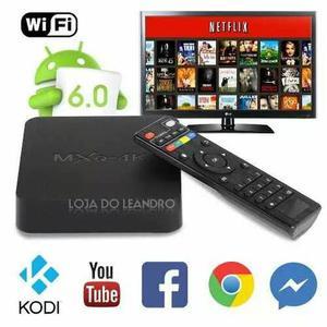 Tv Box Mxq 4k Transforma Tv Em Smart Tv Internet Netflix