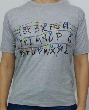 Camisetas exclusivas Stranger Things