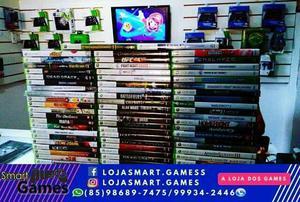 Jogos p/ Xbox 360/XboxOne/Ps3/Ps4 - Aceito Cartões
