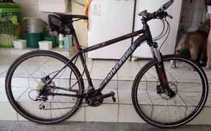 Bike Cannondale Trail 6 Aro 29 Pneu Slick Freio Hidráulico