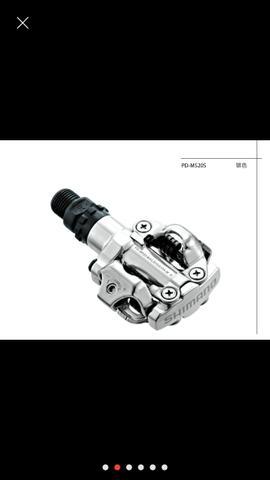 Pedal de clip shimano m520
