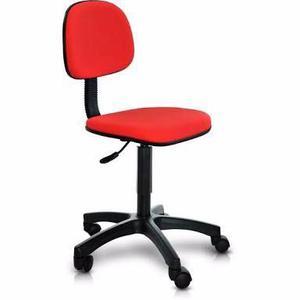 Cadeira secretaria giratória c/ regulagem de altura sem