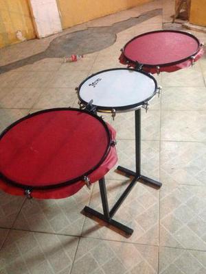 Instrumentos de percussão compactos