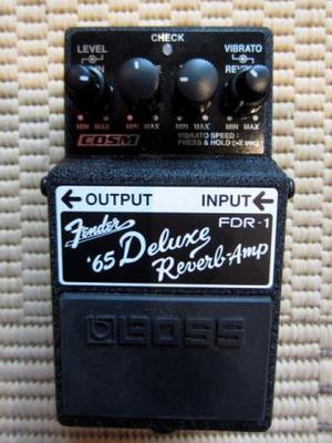 Pedal De Efeito Boss Fdr1 Fender 65 Deluxe Reverb Amp na