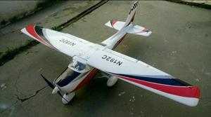 Aeromodelo Cessna Skylane Cod.055 - sem eletrônica