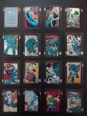 Coleção Cards Superman: Doomsday - The Death Of Superman