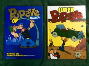 Popeye Clássico e Super Popeye - HQs capa dura