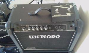 Amplificador Meteoro space 100 w com distorção,