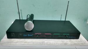 Microfone Sem Fio Leson