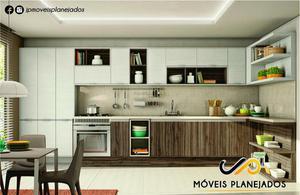 Cozinha Planejada Sob Medida Móveis Planejados