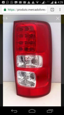 Lanterna nova s10 LTZ com LED