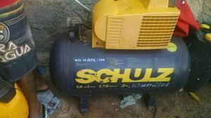 Compressor Schulz 175 litros 10 pes extratora Wap capert