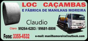 Loc Caçambas e Fabrica de Manilhas Moreira