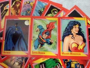 Coleção Completa De Cards Dc  Muito Raro