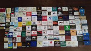 Coleção De Caixas De Fósforos Promocionais 130 Peças