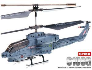 Helicóptero Militar R/C S108G - 3 Canais